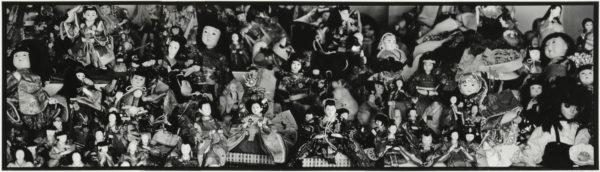 人形 03-04  2009, Gelatin silver print on watercolor paper with glue, 255×729mm, limited edition #1/1 ©Yoshihiko Ito