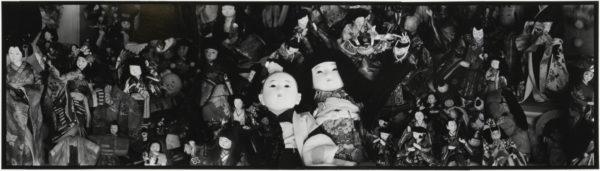 人形 03-06  2009, Gelatin silver print on watercolor paper with glue, 255×728mm, limited edition #1/1 ©Yoshihiko Ito