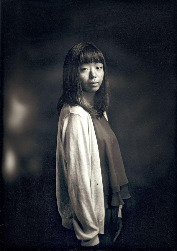 アユム 16歳  広島  2016, ダゲレオタイプ, unique, 16.5 x 11.9 cm ©Takashi Arai