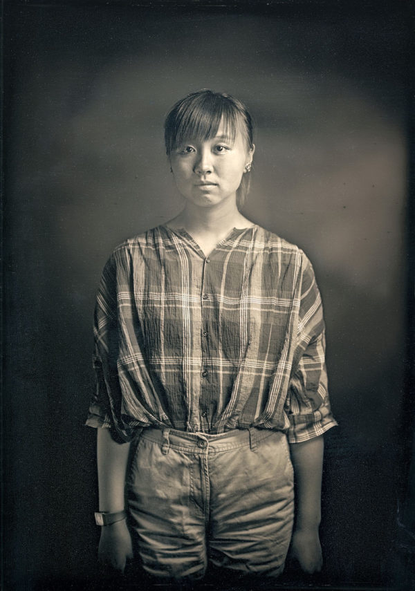 ヒカル 17歳  広島  2016, ダゲレオタイプ, unique, 16.5 x 11.9 cm ©Takashi Arai