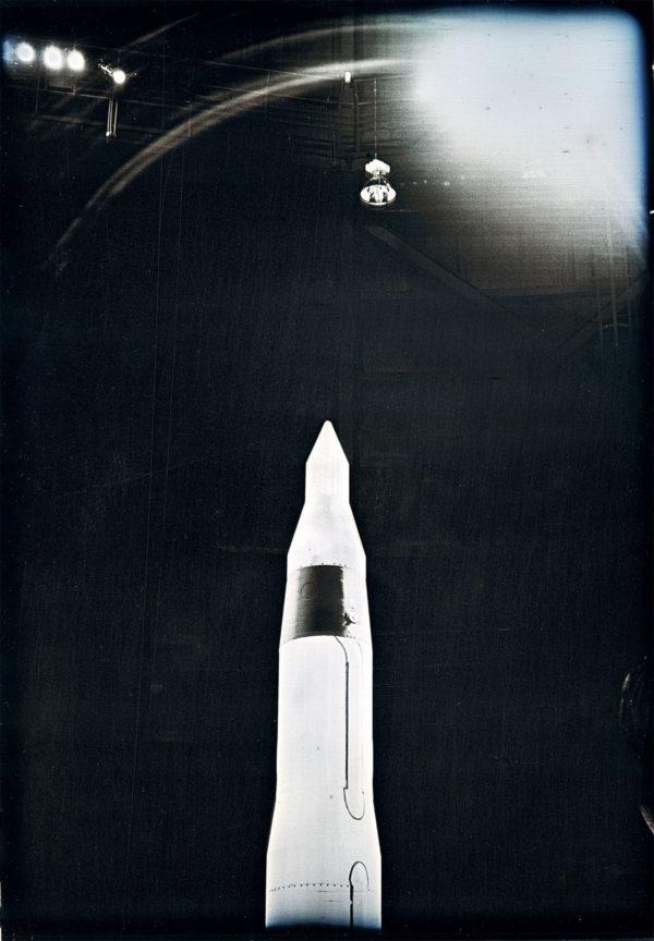 ファルス・ナンバー1 (ボーイング LGM-30 ミニットマン), マケット, ダゲレオタイプ, edition of 3, 16.5 x 11.9 cm ©Takashi Arai