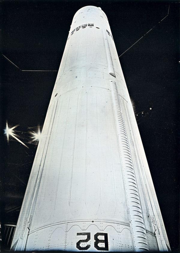 ファルス・ナンバー3 (マーティン・マリエッタ SM-68B/LGM-25C タイタン II), マケット, ダゲレオタイプ, edition of 3, 16.5 x 11.9 cm ©Takashi Arai