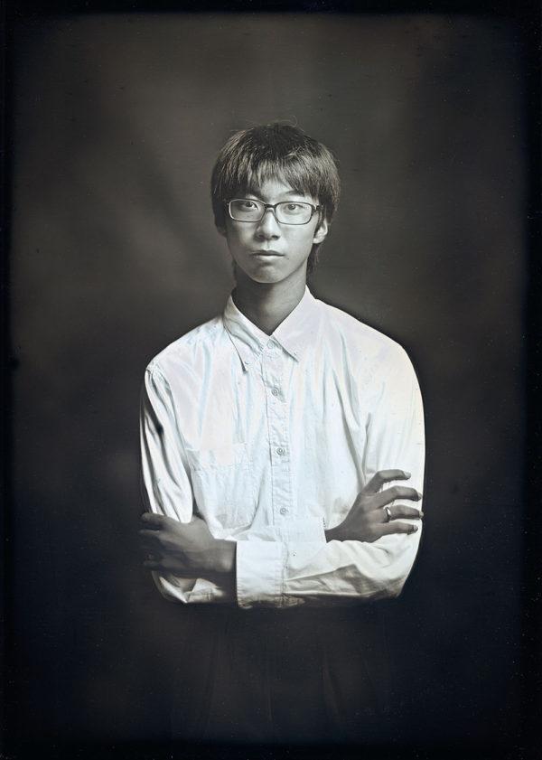 タイチ  16歳  広島  2016, ダゲレオタイプ, unique, 16.5 x 11.9 cm ©Takashi Arai